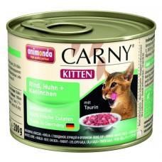 Animonda konzerva Kitten drůbeží/králík 200g - Carny Kitten