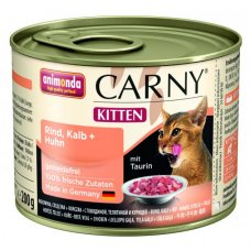 Animonda konzerva Kitten drůbeží/telecí 200g - Carny Kitten