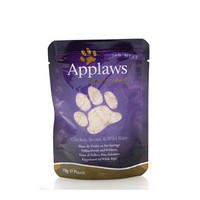 Applaws kapsička Cat 70g kuřecí prsa a divoká rýže