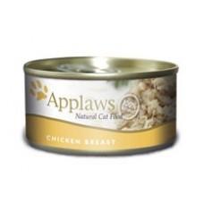 Applaws konzerva Cat kuřecí prsa 156g