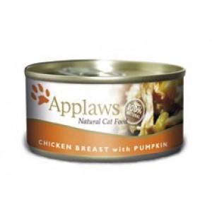 Applaws konzerva Cat kuřecí prsa a dýně 70g