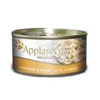 Applaws konzerva Cat kuřecí prsa a sýr 156g