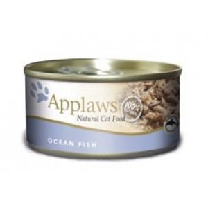 Applaws konzerva Cat mořské ryby 70g