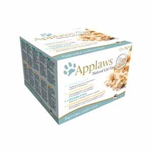 Applaws konzerva Cat MultiPack Supreme Mix 12x70g