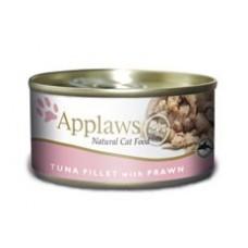 Applaws konzerva Cat tuňák a krevety 156g