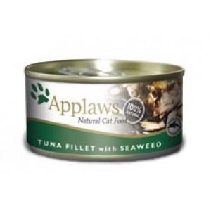 Applaws konzerva Cat tuňák a mořské řasy 70g
