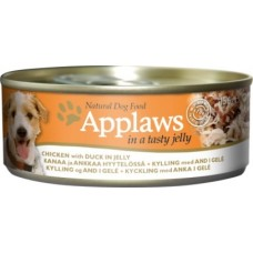 Applaws konzerva Dog JELLY kuře s kachnou 156g