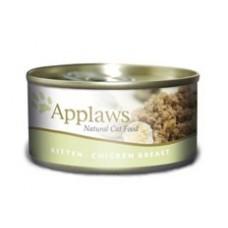 Applaws konzerva Kitten kuřecí prsa 70g