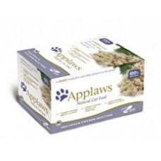 Applaws miska Cat 8 x 60g MultiChicken - Kuřecí výběr