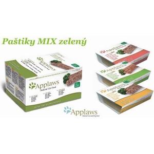 Applaws Paté Cat 7 x 100g MultiPack COUNTRY zelený - mix paštik pro kočky
