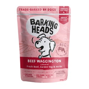 Barking Heads Beef Waggington - kapsička