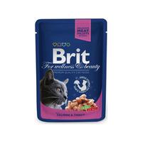 Brit Premium Cat kapsa with Salmon & Trout 100g