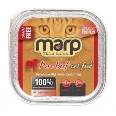 Marp Cat Beef vanička pro kočky s hovězím 100g