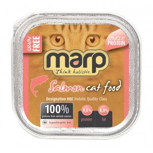 Marp Cat Salmon vanička pro kočky s lososem 100g
