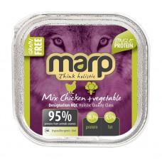 Marp Dog Mix vanička pro psy kuře + zelenina 100g