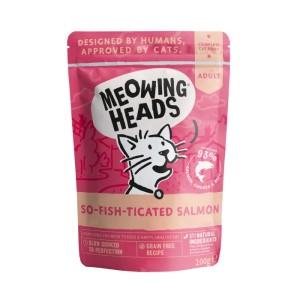 Meowing Heads So-fish-ticated Salmon - kapsička