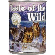 Taste of the Wild Wetlands Wild Fowl konzerva 375g