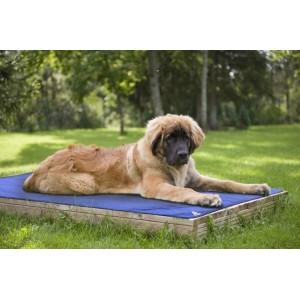 HyperKewl™ Dog Pad - Chladící podložka pro psy - M (53 x 76cm) šedá