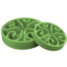 Eat Slow Large Green - zpomalovací miska - zelená