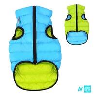 AIRY VEST bunda pro psy modrá/zelená XS 25