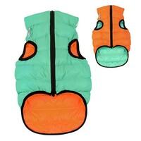 AIRY VEST LUMI bunda pro psy luminiscenční/oranžová XS 22