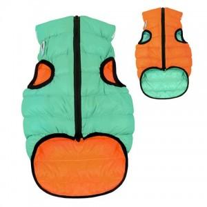 AIRY VEST LUMI bunda pro psy luminiscenční/oranžová M 50