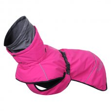 RUKKA zimní bunda WARMUP - Růžová 65