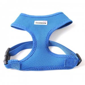 Postroj Doodlebone Airmesh modrý - velikost L