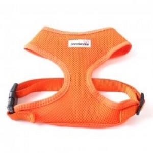 Postroj Doodlebone Airmesh oranžový - velikost L