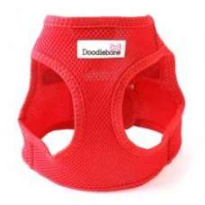 Postroj Doodlebone Airmesh Snappy červený - velikost L