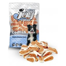 Calibra Joy Dog Classic Cod & Chicken Sushi 80g