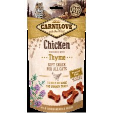 Carnilove Cat Semi-Moist Chicken enriched with Thyme 50g
