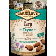 Carnilove Dog Semi Moist Carp with Thyme 200g