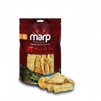 Marp Dog Treats Buffalo Crunchies - sušená průdušnice 50g