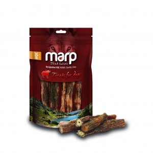 Marp Dog Treats Buffalo Tail - sušený ocas 150g