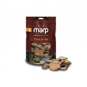 Marp Dog Treats - Hovězí játra kousky 40g