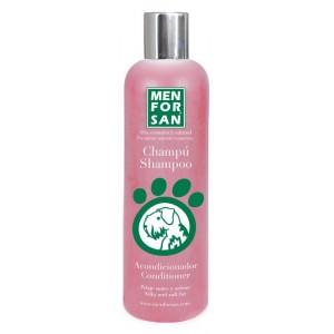 Menforsan Ošetřující kondicionér a šampon (2v1) proti zacuchávání srsti 300ml