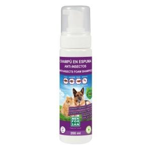 Menforsan pěnový repelentní šampon s margózou pro psy a kočky 200ml