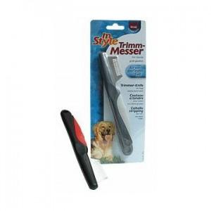 Nůž trimovací In Style velké zuby Trixie