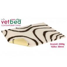 Vetbed protiskluz/Drybed Béžovohnědá 100x75cm