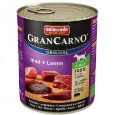 Animonda GRANCARNO konzerva ADULT hovězí/jehněčí 800g