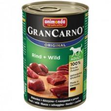 Animonda GRANCARNO konzerva ADULT hovězí/zvěřina 400g