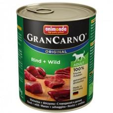 Animonda GRANCARNO konzerva ADULT hovězí/zvěřina 800g