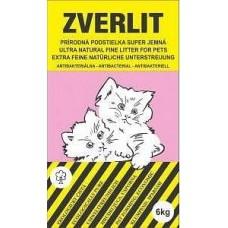 ZVERLIT růžový super jemná Podestýlka kočka 6kg